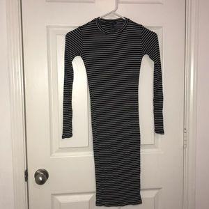Women's Long sleeved tight dress